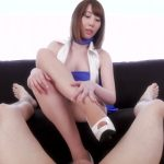 LegsJapan presents Aya Kisaki in Race Queen Footjob