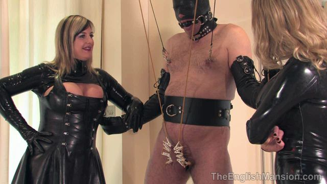 Watch Online Porn – TheEnglishMansion presents Lady Nina Birch, Mistress Sidonia in Predicament Dinner (WMV, HD, 1280×720)