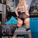 VintageFlash presents Anna Belle in So sheer, so expensive! – 27.01.2017