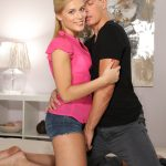 SexyHub – DaneJones presents Sweet Cat in Shy blonde neighbour afternoon sex – 10.01.2017