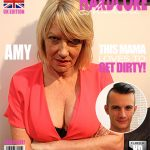 Mature.nl presents Amy (EU) (53) in British housewife doing her toyboy – 31.01.2017