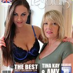 Mature.nl presents Amy (EU) (54), Tina Kay (31) in British kinky mature lesbian has sex with a hot young babe – 22.02.2017