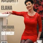 Mature.nl presents Elana S. (53) in horny housewife masturbating on the couch – 06.02.2017