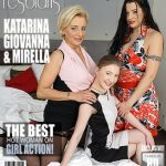 Mature.nl presents Giovanna (40), Katarina E. (22), Mirella (49) in 3 old and young lesbians playing with eachother – 15.02.2017