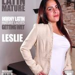 Mature.nl presents Leslie A. (39) in Latin housewife playing with her toys – 02.02.2017