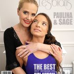 Mature.nl presents Paulina W. (42), Sage (22) in Hot babe having fun with a naughty mature lesbian – 06.02.2017