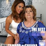 Mature.nl presents Shanna (24), Tamara B. (59) in big mature lesbian has sex with a hot young babe – 24.02.2017