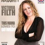 Mature.nl presents Victoria Filth (EU) (32) in British curvy housewife fingering herself – 09.02.2017