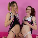 Twotgirls presents Casey Kisses and Jelena Vermilion in Teen Spirit – 10.02.2017
