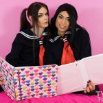 Twotgirls presents Kira Crash & Valentina Mia in Teen Lesbian Schoolgirls Fuck After Studying – 24.02.2017