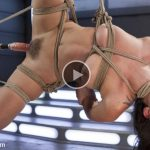 Kink – FuckingMachines presents Roxanne Rae is Tied Up and Tormented with Anal Orgasms – 02.02.2017