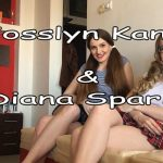 Scatshop presents Josslyn Kane, DianaSpark in Mean Schoolgirls Utterly Destroy Nerdy Boys Model Railroad