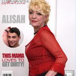 Mature.nl presents Alisah (42) in horny housewife doing her toyboy – 17.03.2017