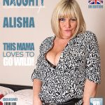Mature.nl presents Alisha (EU) (57) in British chubby mature housewife showing off her big tits – 01.03.2017