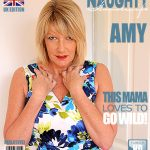 Mature.nl presents Amy (EU) (54) in British Amy gets a present from a fan – 14.03.2017