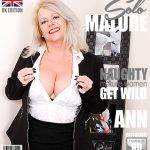 Mature.nl presents Ann (EU) (47) in British chubby housewife fingering herself – 16.03.2017