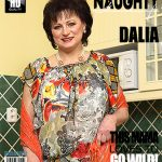 Mature.nl presents Dalia (56) in Horny housewife fingering herself – 23.03.2017