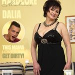 Mature.nl presents Dalia (56) in horny housewife doing her toyboy – 03.03.2017