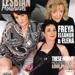 Mature.nl presents Elana S. (53), Eleanor (69), Freya (50) in 3 mature lesbians sharing their pussies – 02.03.2017