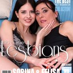 Mature.nl presents Felisa (49), Sorina (20) in 2 old and young lesbians playing with eachother – 22.03.2017