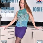 Mature.nl presents Josie (EU) (52) in British hairy housewife fingering herself – 14.03.2017