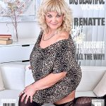 Mature.nl presents Renatte (51) in big mature woman showing off her big tits – 07.03.2017