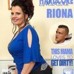 Mature.nl presents Riona (43) in Chubby housewife doing her toyboy – 24.03.2017