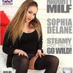Mature.nl presents Sophia Delane (EU) (33) in British big breasted MILF playing with herself – 03.03.2017