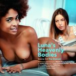 VivThomas presents Luna Corazon, Stella Cox in Luna Heavenly Bodies Episode 3 – The Dance – 01.03.2017