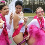 FakeHub – FakeTaxi presents Cristal Caitlin aka Vinna Reed and Gina Gerson and Lady Dee in Hen party gets wild in Prague taxi – 12.03.2017