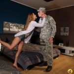 SexyHub – DaneJones presents Alexis Crystal aka Anouk in Army leavers wife fucks best buddy – 14.03.2017