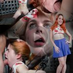 SexuallyBroken presents Hot Redhead Amarna Miller is back, and suffers a brutal facefucking – 15.03.2017