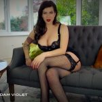Goddess Madam Violet in Aural Blowjob