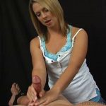 HandjobsWithATwist presents Goddess Brianna in Milked by His Beautiful Captor