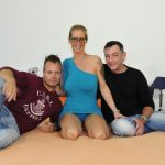 Porndoepremium – ReifeSwinger presents Jana L in Nasty hardcore MMF threesome with big titted mature German blonde Jana L. – 28.03.2017