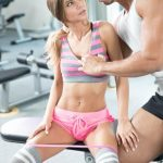 Private presents Sarah Kay in Has an Anal Creampie in the GYM – 03.03.2017