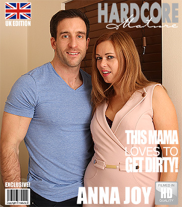 [Mature.nl / Mature.eu] Anna Joy (EU) 37 (British mom fucking and sucking) 01.04.2017 [2017 г., Straight, all sex, pussylicking, blowjob, chubby, bbw]
