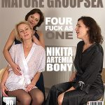 Mature.nl presents Artemia (44), Bony (34), Nikita V. (32) in Four fuck as one – 27.04.2017