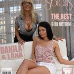 Mature.nl presents Danila M. (21), Lana (EU) (41) in 2 old and young lesbians playing with eachother
