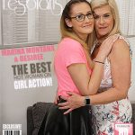 Mature.nl presents Desiree (20), Marina Montana (EU) (50) in Horny old and young lesbian couple fooling around – 29.04.2017