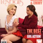 Mature.nl presents Emmy (21), Serena K. (46) in Horny old and young lesbian couple fooling around – 25.04.2017