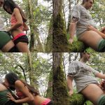 MyFreeCams Webcams Video presents Girl RobinMae in Nature Blowjob