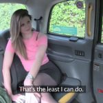 FakeTaxi presents Eva Johnson in Anal Date Night for British Cabbie – 20.04.2017