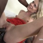 LegalPorno presents Claudia Mac learns quickly how to take two big black cocks IV057 – 31.03.2017