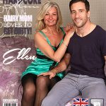 Mature.nl presents Ellen B. (EU) (47) in British hairy housewife fucking and sucking – 20.05.2017