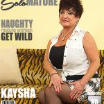 Mature.nl presents Kaysha (54) in big breasted housewife fooling around – 09.05.2017
