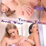 DDFNetwork – EuroGirlsOnGirls presents Tiffany Tatum, Annie Wolf in Orgasmic Intentions: Lesbians Dildo Does Double Duty – 14.05.2017