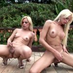 Brazilian-transsexuals presents Dany & Thays Stroke And Cum! Remastered