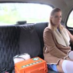 FakeHub – FakeTaxi presents Chrissy Fox in Nurse in Sexy Lingerie has Car Sex – 04.05.2017