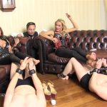 SadoLadies presents Lady Dana in How Lordly Ladies Relax